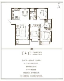 博雅·逸豪苑户型图