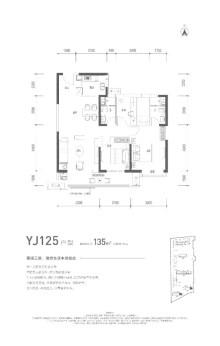 碧桂园云顶YJ125户型
