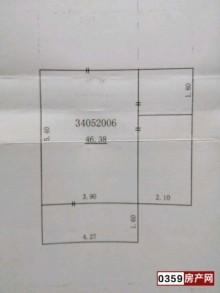(空港区)阳光庄园1室1厅1卫46m²简单装修
