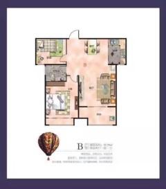 荣业新悦城,现房,仅此一套 92.29平,即买即装即住