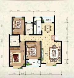 (东城区)水岸华庭·东郡4室2厅2卫160m²毛坯房