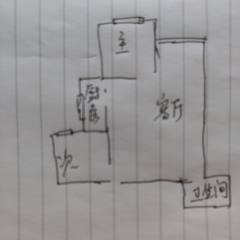 (北城区)涑水苑2室1厅1卫81m²毛坯房