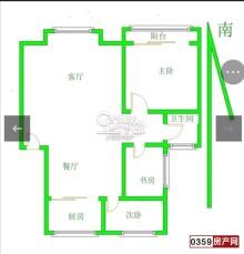 业主急售,明珠小区3室2厅1卫113m²精装修!