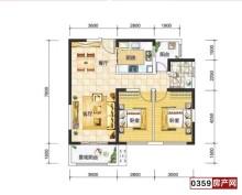 有本房源支持按揭五洲观澜2室2厅1卫94.5m²中档装修